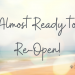 Online Bookings Open